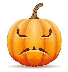pumpkin 04 vector image vector image