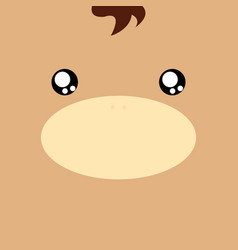 Cartoon horse background vector