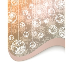 golden christmas background vector image vector image
