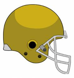 Helmet stock vector