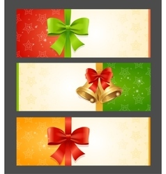 Present Card Template vector image vector image