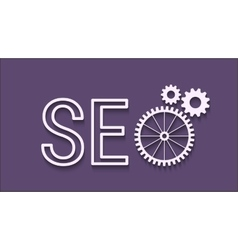 Seo abstract icon vector