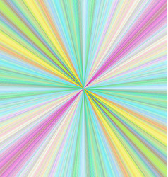 Colorful ray burst background design vector