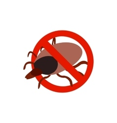 Warning sign with tick icon isometric 3d style vector