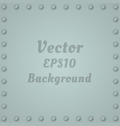 metallic background of steel textured plate with vector image