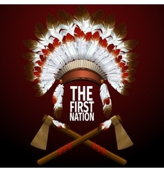 The first nation vector