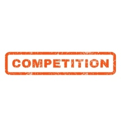 Competition rubber stamp vector