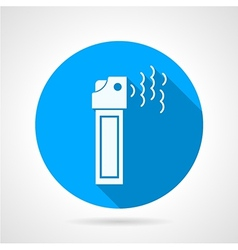 Tear pepper spray flat icon vector