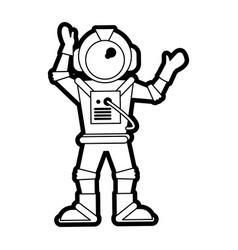 Astronaut vector