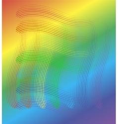 Bright multicolored background vector