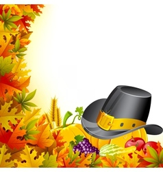 Colorful Thanksgiving vector image