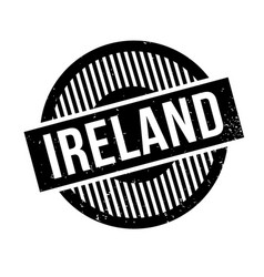 Ireland rubber stamp vector