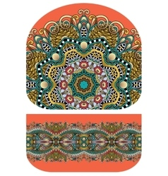 Pattern of purse money design you can print on vector