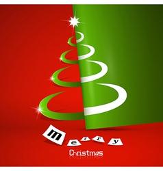 Abstract Merry Christmas theme vector image