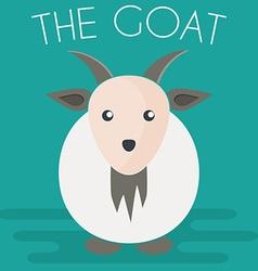 Goat mascot vector image