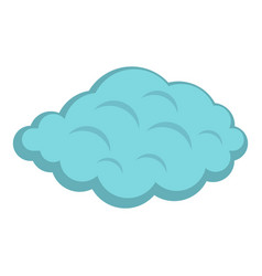 Small cloud icon isolated vector