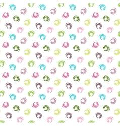 Seamless white grunge pattern vector image