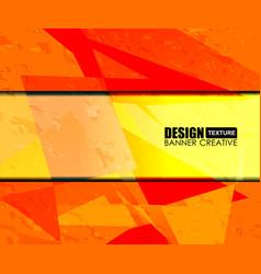 Background orange texture design vector