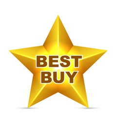 Best Buy Tag vector image vector image