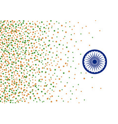 India 15 august independence day background vector