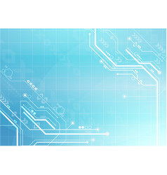 technology circuit digital background vector image vector image