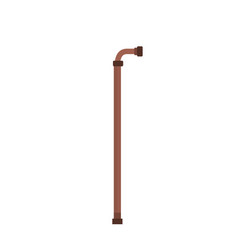 Walking stick element that used the old people vector