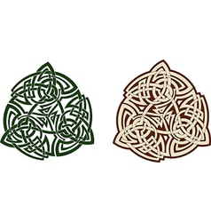 Celtic triskell vector