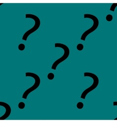 Question mark web icon flat design seamless gray vector