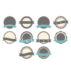 Set of badges labels and logo template vector
