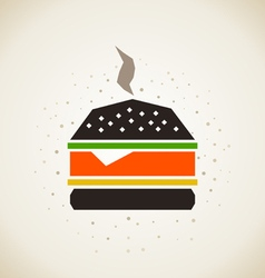Hamburger3 vector