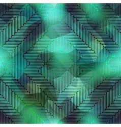 Computer green matrix vector