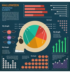 Halloween infographic 1 vector