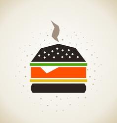 Hamburger3 vector image