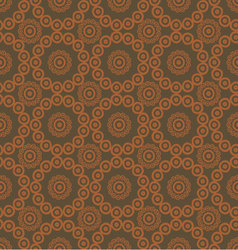 pattern seamless brown background vector image vector image