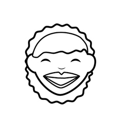 Woman icon Avatar cartoon graphic vector image