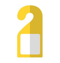 door hook icon vector image