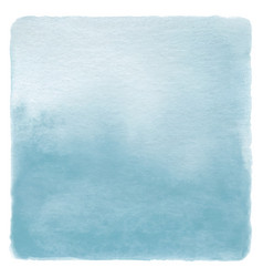 Abstract blue watercolor on white background vector