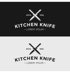 Kitchen knife vector