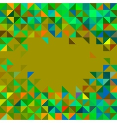 Abstract Geometric Color Frame vector image