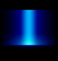 Blue Light from Top Background vector image vector image