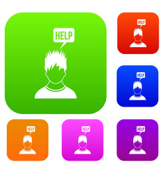 Man needs help set collection vector