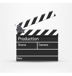 Movie realistic theme eps 10 isolated on white vector