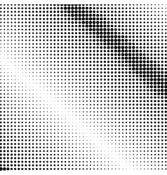 Black Dots on a White Background Pop Art vector image vector image