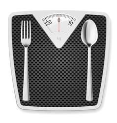 Libra spoon fork 02 vector image vector image