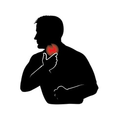 Sore throat vector