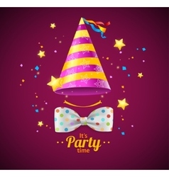 Party card or placard vector