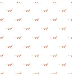 airplane pattern vector image