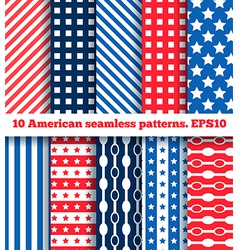 American pattern vector