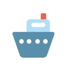 blue nautical cruise vector image