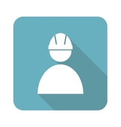 Square builder icon vector